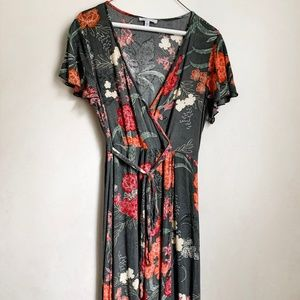 Patrons of Peace floral dress